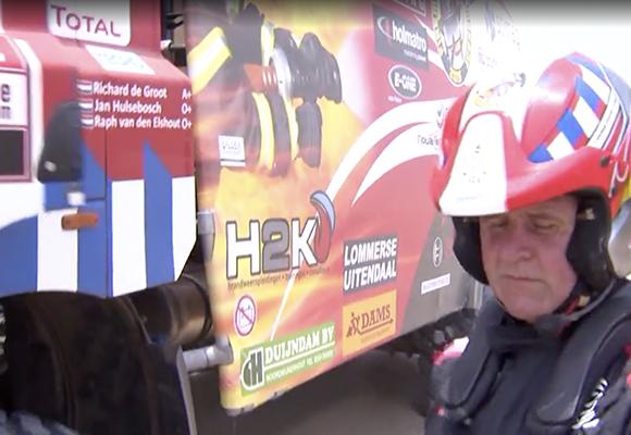H2K sponsort het Firemen Dakar Team 2019